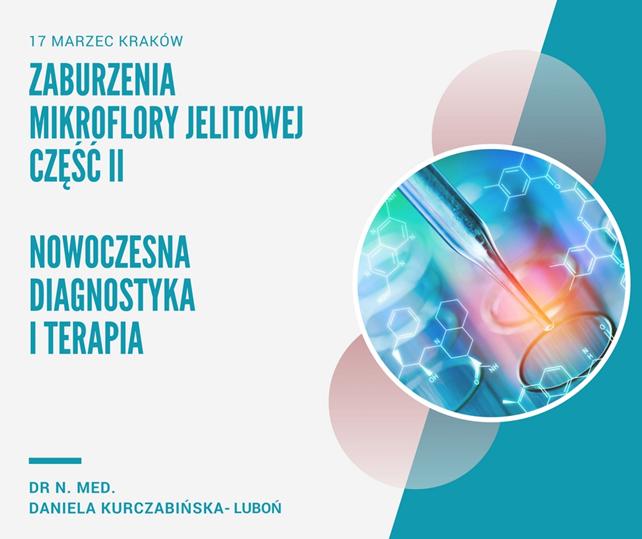 Zaburzenia mikroflory jelitowej, część II. Nowoczesna Diagnostyka i Terapia