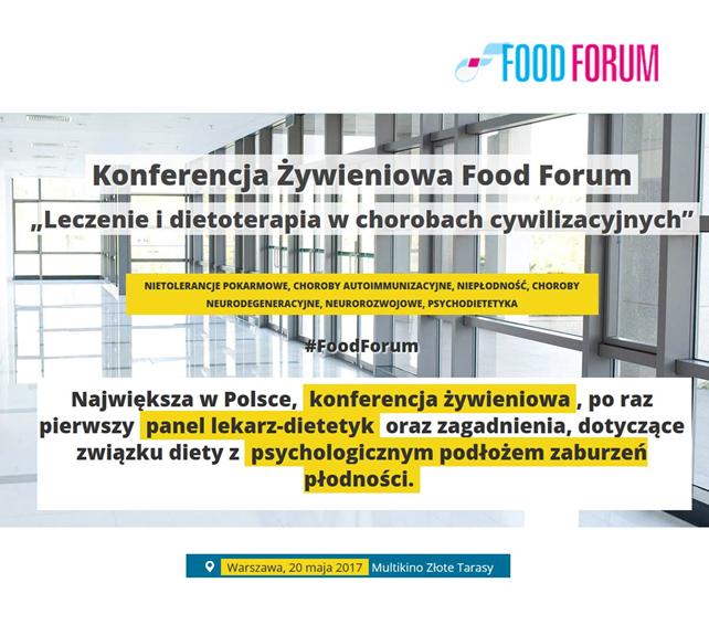Konferencja żywieniowa Food Forum